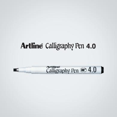 Artline Calligraphy Pen 4 0 Ek 244 New Era Enterprises